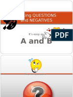 Questions and Negatives - Ppt