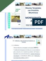 J2_5_Las Mezclas Templadas Con Emulsion Bituminosa. Monografia ATEB_D. Rafael Guillen