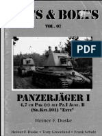 88221773 Nuts and Bolts Vol 07 Panzerjager I 4 7 Cm PAK t Auf Pz I Ausf B Sd Kfz 101 ENTE