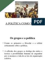 A Política Como Teoria