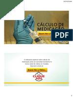 PDF Cálculo de Medicação