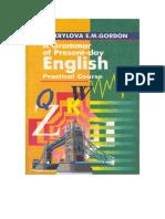 Krylova Gordon A grammar of Present-day English Practical Course