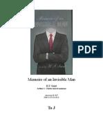 Memoirs of an Invisible Man - HF Saint (1987)