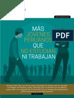 Más jóvenes peruanos no estudian ni trabajan