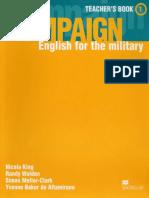 Campaign 1 Teacher's Book