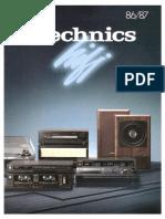 Hfe Technics Hifi 1986-87 en Es