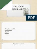 2016 SJH - Haji Abdul Rahman Limbong