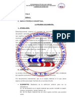 5la Prueba Documental - Nuevo Codigo Procesal Civil