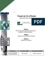 PFE - EMSI 2013 - Ingénierie systèmes et réseaux informatiques