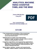 2015 BigData ML Cog Mind Tutorial