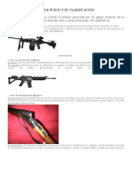 Armas de Fuego y Su Clasificación