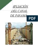 AMPLIACIÓN DEL CANAL DE PANAMÁ