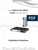 Redline An100u Ux Installation Guidelines