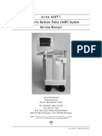 Arrow ACAT1 Intra Aortic Balloon Pump System Service Manual