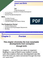 03 Prenatal Development and Birth