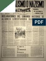 Alianza - 1961 - 1 Quincena Octubre