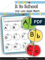 Abecedario Para Imprimir de Manzanas