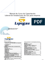 MANUAL Instalaciones de Gas Lipigas
