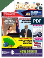 Indian Weekender 23 September 2016