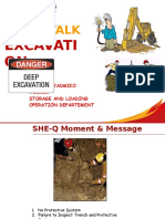 Safety Talk Excavation