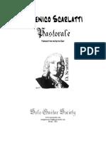 Domenico Scarlatti - Pastorale (For 2 Guitars).pdf