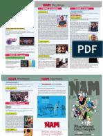 ÑAM Festival Internacional del Cómic y Novela Gráfica  Programa