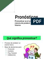 pronosticos