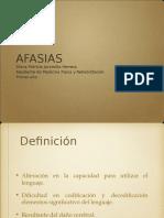 presentación de afasias.