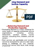 6. Balancing Demand & Capacity