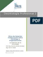 Deontologia Profesional 2 - 2