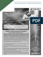 Cespe 2012 Anac Tecnico Em Regulacao de Aviacao Civil Area 2 Prova