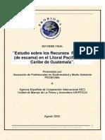 549298 Recursos Pesqueros de Escama en Guatemala