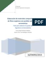 Elaboración de Materiales Compuestos a Base de Fibras Orgánicas Con Posibles Aplicaciones Aeronáuticas (1)