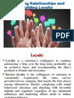 8. Managing Relationships & Building Loyalty