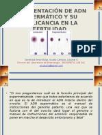 Clase 10 FRAGMENTACIÓN DE ADN ESPERMÁTICO.pptx