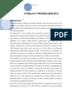 Inversión Pública y Privada en Bolivia