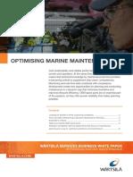 Wartsila Optimising Marine Maintenance