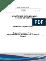 UAEM OIC DA 01 Manual Organización 15-02-16
