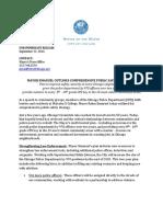 Mayor Emanuel Outlines Comprehensive Public Safety Strategy