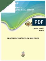 TRATAMENTO FÍSICO DE MINÉRIOS