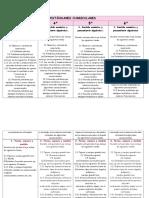 Cuadro Comparativo de Los Estandares Curriculares - Copia