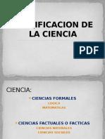 Clasificacion de La Ciencia