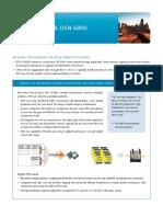 OSN6800 Brochure