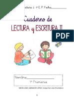 Cuaderno de Lectoescritura II