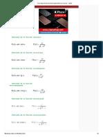 Derivadas de Las Funciones Trigonométricas Inversas - Vitutor