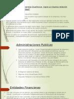 Entidades Financieras Admin Publicas Comunidad Final