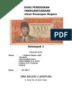 Makalah PKN Pengelolaan Keuangan Kel. 1