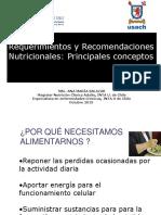 1° CLASE 1° REPASO requerimiento y recomendación. 2015 p