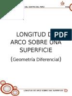 Longitud de Arco Sobre Una Superficie
