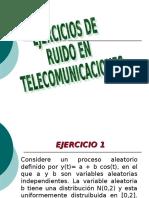 EJERCICIOS DE RUIDO EN TELECOMUNICACIONES